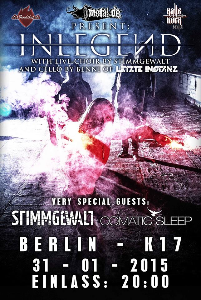 InLegend Stimmgewalt Comatic Sleep Berlin 31.01.2015